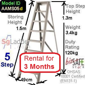 A-Frame 05-Step Ladder rent for 3 months