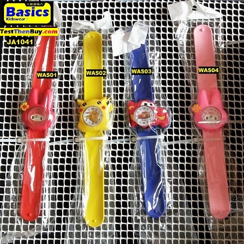 Kids cartoon silicon watch