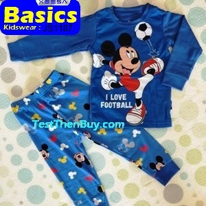 JS1187 Children Pyjamas for Boys Age 7