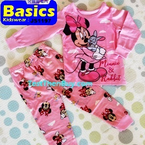 JS1197 Children Pyjamas for Girls Age 7