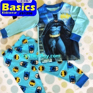 JS1206 Children Pyjamas for Boys Age 6