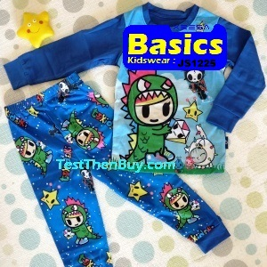 JS1225 Children Pyjamas for Boys Age 5