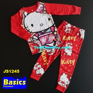 JS1245 Children Pyjamas for Girls Age 5