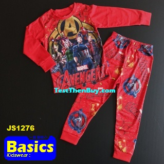 JS1276 Children Pyjamas for Boys Age 6