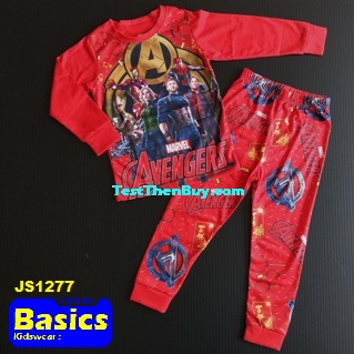 JS1277 Children Pyjamas for Boys Age 7