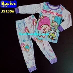 JS1306 Children Pyjamas for Girls Age 6