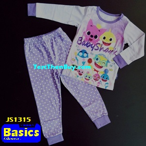 JS1315 Children Pyjamas for Girls Age 5
