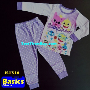 JS1316 Children Pyjamas for Girls Age 6