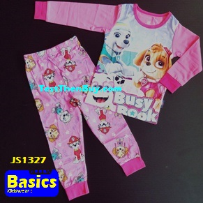 JS1327 Children Pyjamas for Girls Age 7