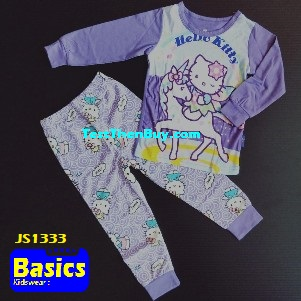 JS1333 Children Pyjamas for Girls Age 3