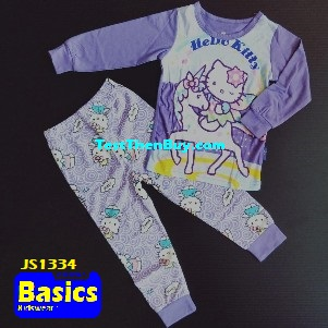 JS1334 Children Pyjamas for Girls Age 4