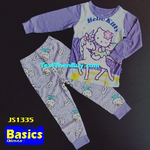 JS1335 Children Pyjamas for Girls Age 5