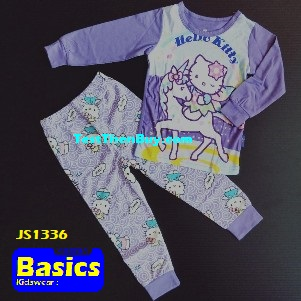 JS1336 Children Pyjamas for Girls Age 6