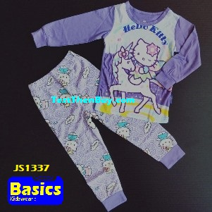 JS1337 Children Pyjamas for Girls Age 7
