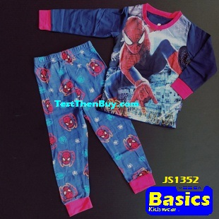 JS1352 Children Pyjamas for Boys Age 2