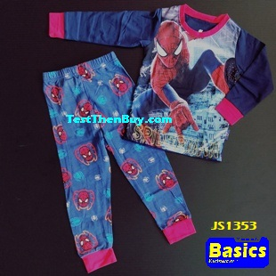 JS1353 Children Pyjamas for Boys Age 3
