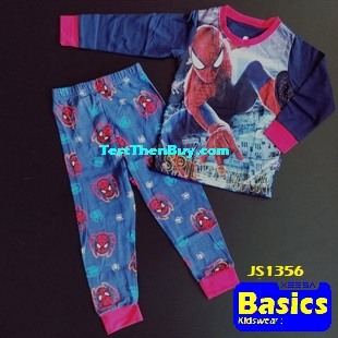 JS1356 Children Pyjamas for Boys Age 6