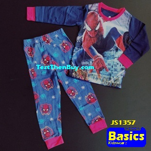 JS1357 Children Pyjamas for Boys Age 7