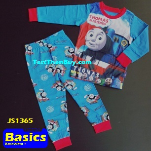JS1365 Children Pyjamas for Boys Age 5