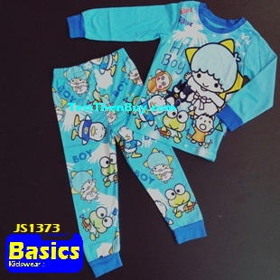 JS1373 Children Pyjamas for Boys Age 3