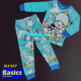 JS1377 Children Pyjamas for Boys Age 7