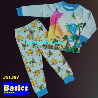 JS1387 Children Pyjamas for Boys Age 7