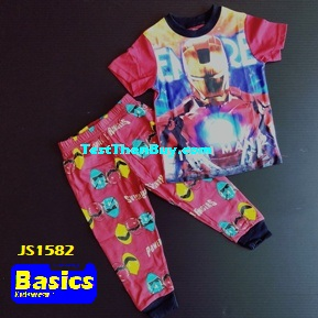 JS1582 Children Pyjamas for Boys Age 2