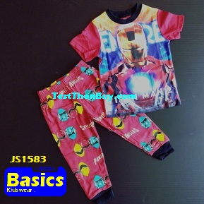 JS1583 Children Pyjamas for Boys Age 3