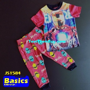 JS1584 Children Pyjamas for Boys Age 4