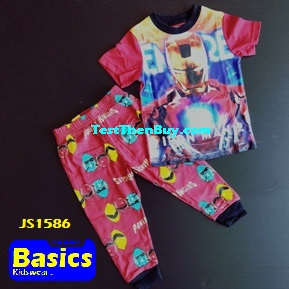 JS1586 Children Pyjamas for Boys Age 6