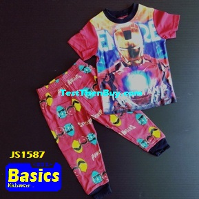 JS1587 Children Pyjamas for Boys Age 7