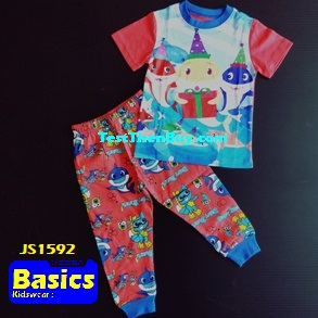 JS1592 Children Pyjamas for Boys Age 2