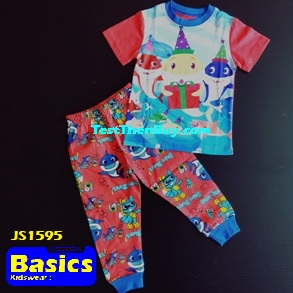JS1595 Children Pyjamas for Boys Age 5