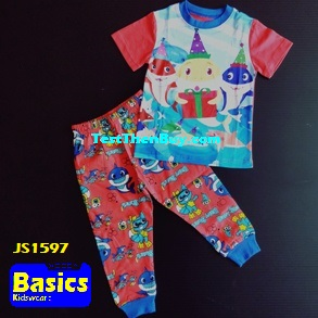 JS1597 Children Pyjamas for Boys Age 7