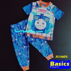 JS1605 Children Pyjamas for Boys Age 5