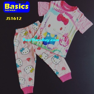 JS1612 Children Pyjamas for Girls Age 2