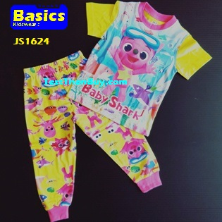 JS1624 Children Pyjamas for Girls Age 4