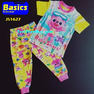 JS1627 Children Pyjamas for Girls Age 7