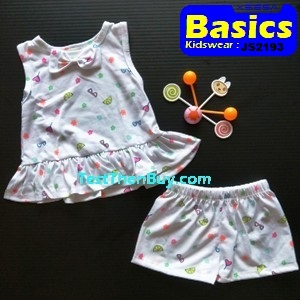 JS2193 Children Sets for Girls Age 3