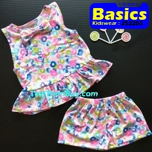 JS2203 Children Sets for Girls Age 3