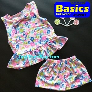 JS2207 Children Sets for Girls Age 7