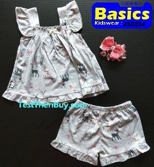 JS2224 Children Sets for Girls Age 4
