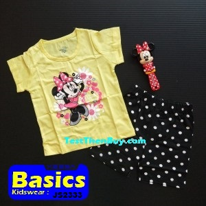 JS2333 Children Sets for Girls Age 3
