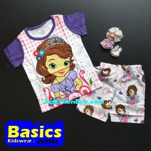 JS2353 Children Sets for Girls Age 3