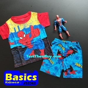 JS2362 Children Sets for Boys Age 2
