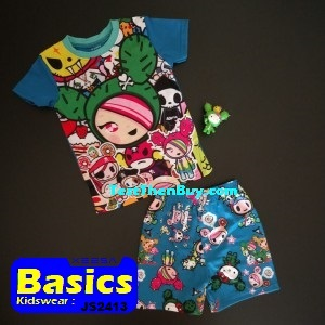 JS2413 Children Sets for Boys Age 3