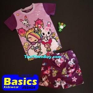 JS2424 Children Sets for Girls Age 4