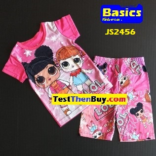 JS2456 Children Sets for Girls Age 6