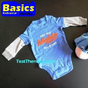 JS428A Baby Romper for Boys Age 3 months old