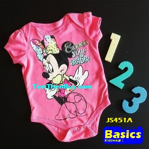 JS451A Baby Romper for Girls Age 3 months old